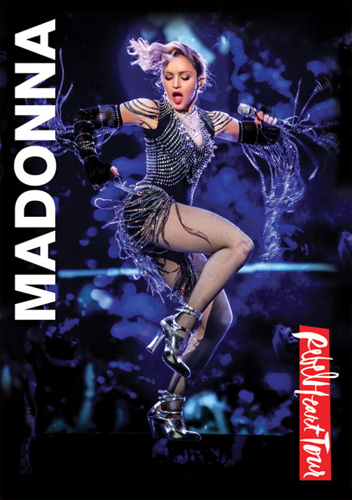 Madona Rebel Heart Tour New DVD Cover