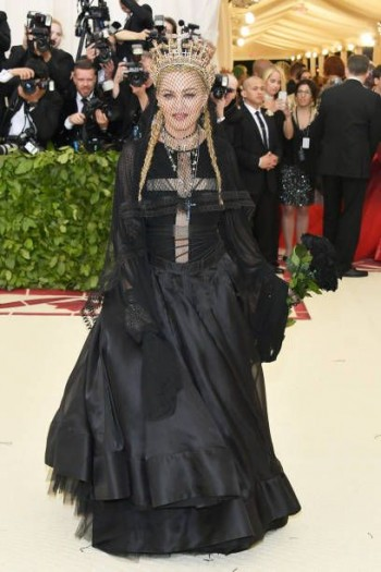 Madonna attends the Met Gala at the Metropolitan Museum of Art in New York - 7 May 2018 (7)