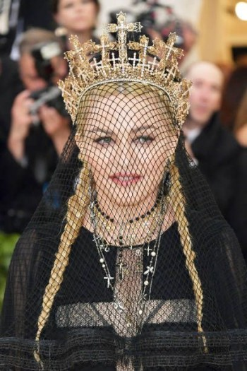 Madonna attends the Met Gala at the Metropolitan Museum of Art in New York - 7 May 2018 (8)
