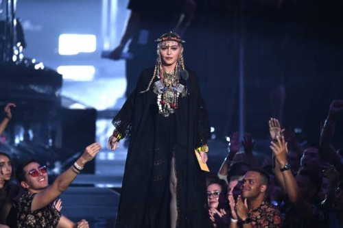 Madonna at the 2018 MTV Video Music Awards - 20 August 2018 - Pictures and Videos (26)