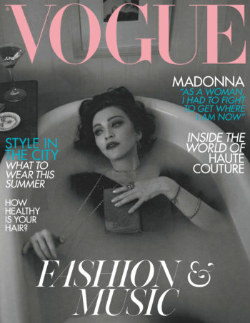 Madonna by Alas & Piggott for British Vogue - June 2019 issue - Pictures and Interview (1)