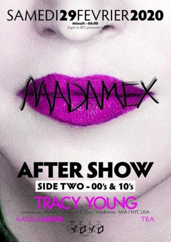 Madame X Tour after party with DJ Tracy Young in Paris 04