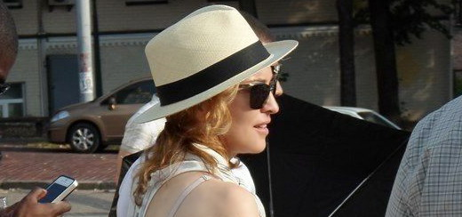 Madonna out and about in Warsaw & Kiev [1-3 August 2012 – 33 Pictures & 3 videos]