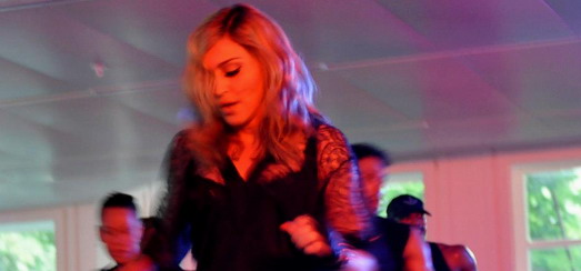 "Madonna gives ""Addicted to Sweat"" dance class in Moscow"