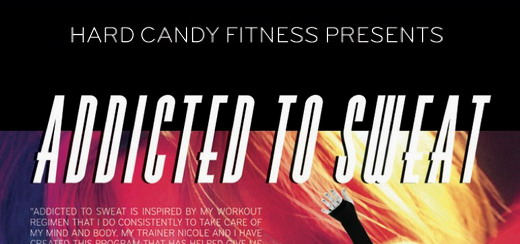 """More details on the different """"Addicted to Sweat"""" DVDs"""