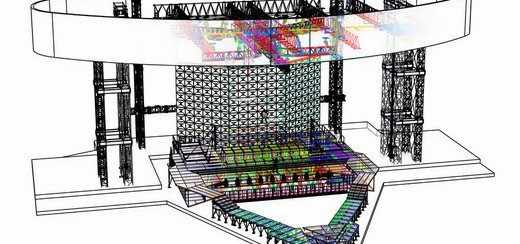 The MDNA Tour Stage: Sketches & 3D Renderings