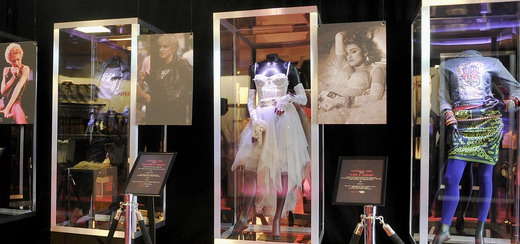 Inside the one-night-only Madonna Pop-Up Fashion Exhibit at Macy's