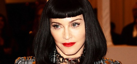 Madonna attends the Met Gala at the Metropolitan Museum of Art in New York [6 May 2013]
