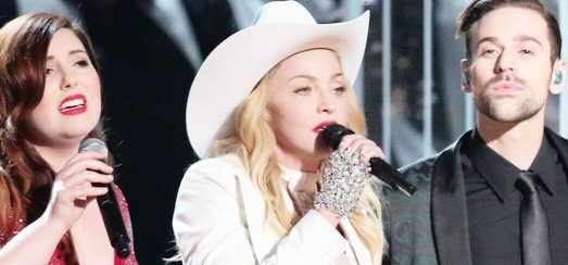 Madonna at the 56th annual Grammy Awards [26 January 2014 – Pictures & Videos]