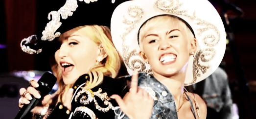 """Madonna and Miley Cyrus perform """"Don't Tell me/We Can't Stop"""" Duet [Pictures and Video]"""