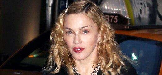 """Madonna attends """"Holler If Ya Hear Me"""" on Broadway with Timor Steffens [16 June 2014 – Pictures]"""