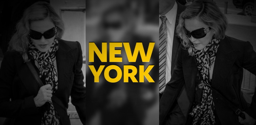 Madonna shows up for jury duty in New York [7 July 2014 – Pictures]