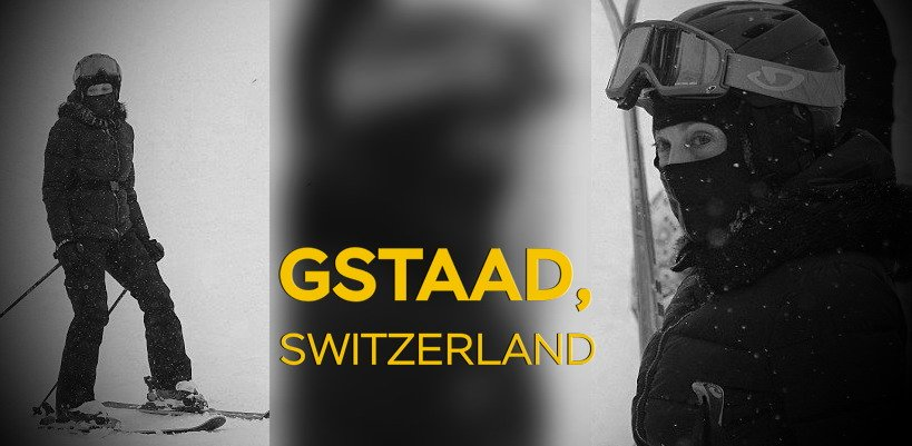 Madonna spotted skiing in Gstaad, Switzerland [December 2014 – January 2015]