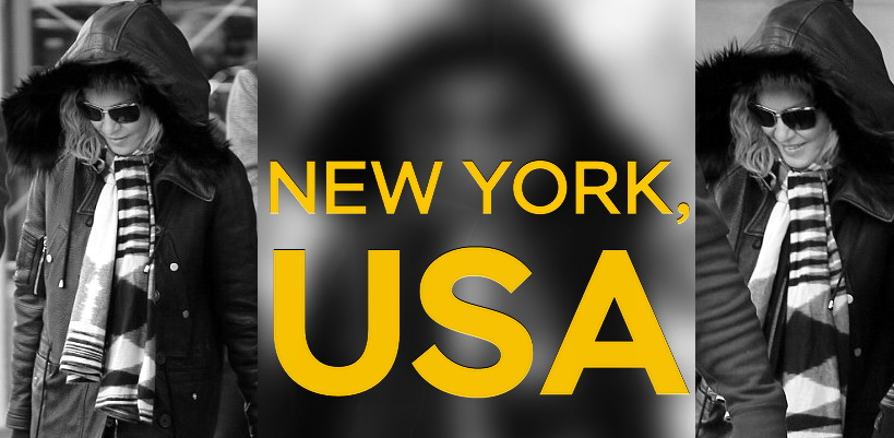 Madonna's back in New York [7 January 2014 – Pictures]