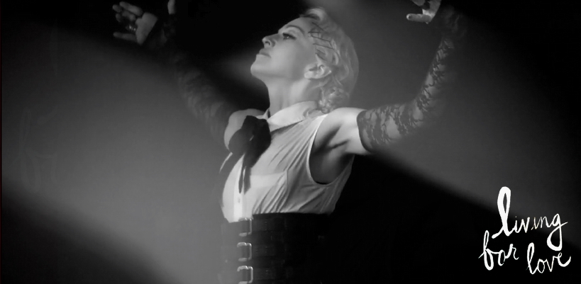 "Madonna's ""Living For Love"" video now available on YouTube"