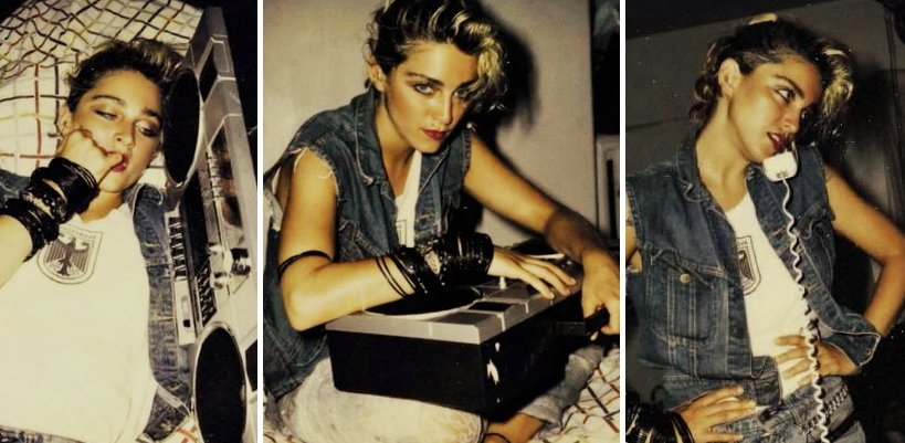 [Update: New Pictures Added] Madonna's Missing Polaroids by Richard Corman Resurface