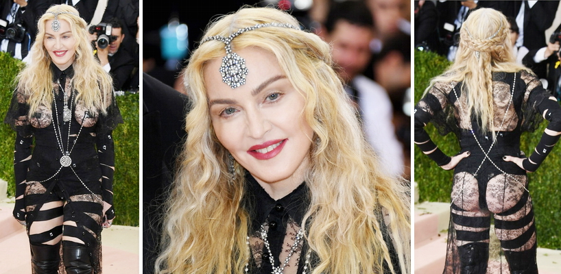 Madonna attends the Met Gala at the Metropolitan Museum of Art in New York [2 May 2016]
