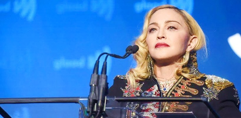 Madonna receives Advocate for Change Award at the 2019 GLAAD Media Awards [4 May 2019]