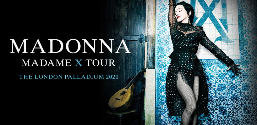 Madonna unveils Madame X Tour London Shows