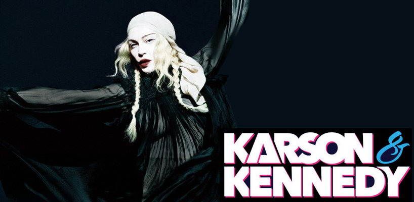 Madonna talks about Game of Thrones and Lizzo on Karson & Kennedy