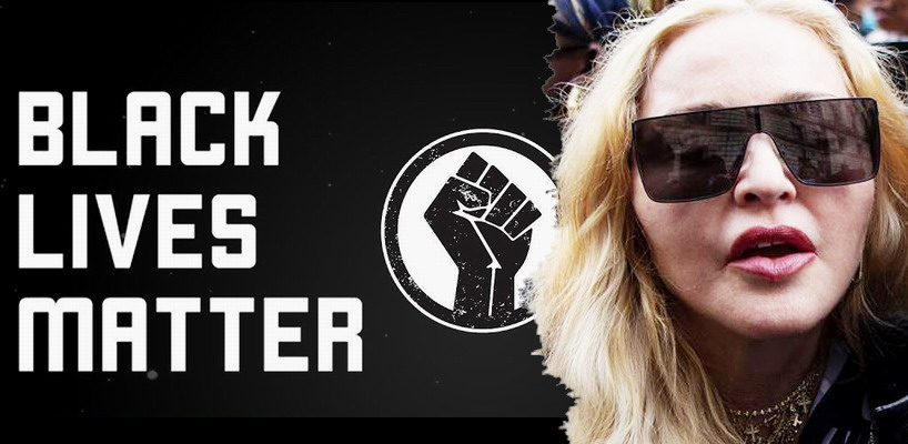 Madonna attends the Black Lives Matter protest in London [6 June 2020 – Pictures & Videos]