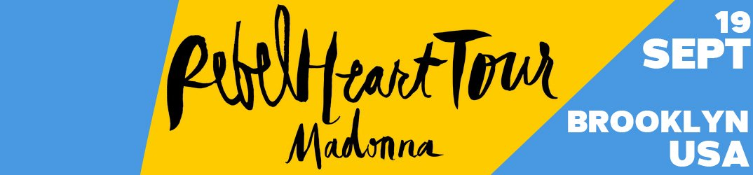 Rebel Heart Tour Brooklyn 19 septembre 2015