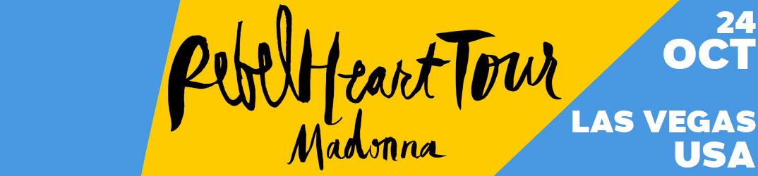 Rebel Heart Tour Las Vegas 24 octobre 2015