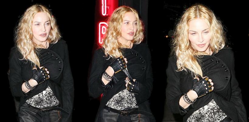 Madonna dans les rues de New York [7 May 2016 – Pictures]