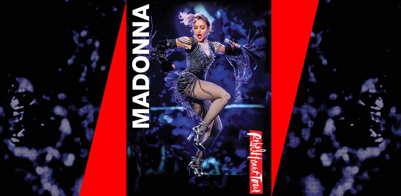Le nouvel artwork du Rebel Heart Tour DVD de Madonna