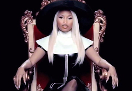 VIDEO - I DON'T GIVE A [BACKDROP] NICKI MINAJ ONLY 02